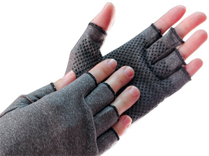 Compression Gloves With Grips Lifestyle