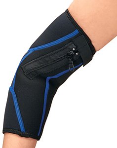 Easy On Off Zipper Compression Elbow Sleeve Lifestyle