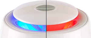 FitAir Halo Air Purifier Red Blue Light