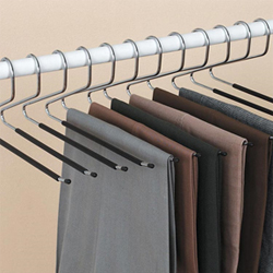 Ideaworks Set of 12 Trouser Hangers
