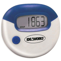 Ideaworks Set of 2 Digital Pedometers Blue