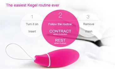 Intimina Kegel Smart Pelvic Toner