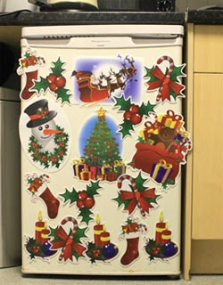 Jobar Christmas Magnets Fridge