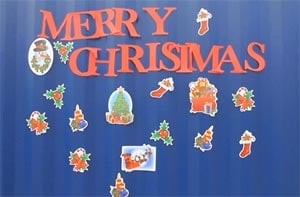 Jobar Christmas Magnets Garage