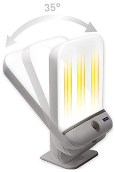 Lanaform Lumino Plus light therapy lamp