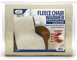 North American Healthcare Fleece Chair Warmer