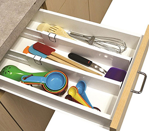 Snap-fit Drawer Dividers