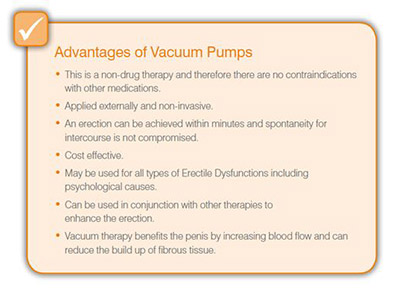 advantages of vacuum pumps
