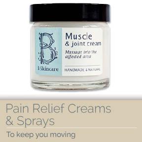Pain Relief Creams & Sprays