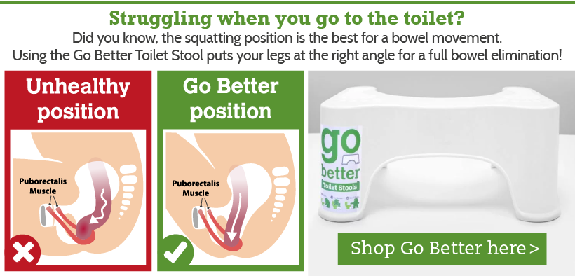 Go Better Toilet Stool