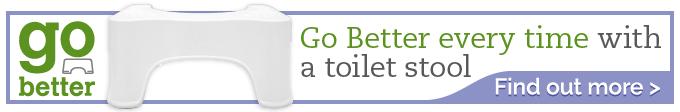 Go Better Toilet Stool