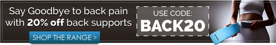 20% off back supports