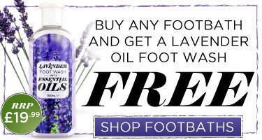 Free Lavender Foot Wash With Every Foot Bath