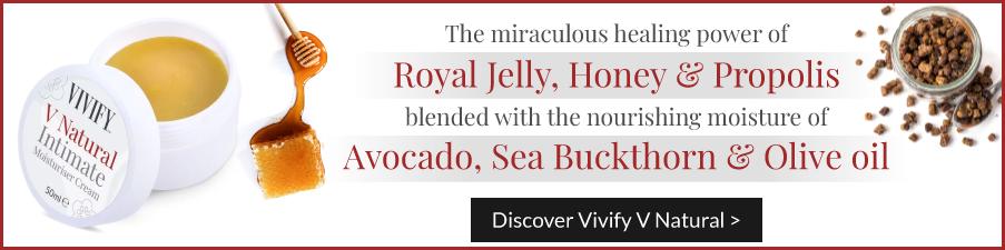 Vivify V Natural Moisturiser Cream