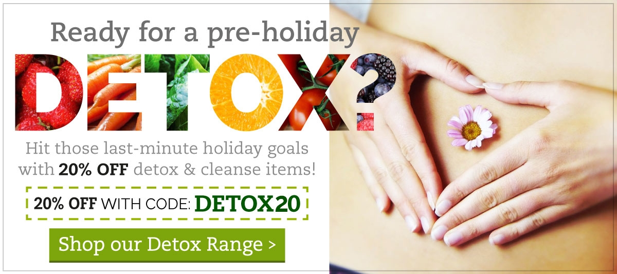 Detox and Cleanse off
