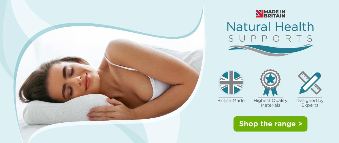 Natural Health supports pillows