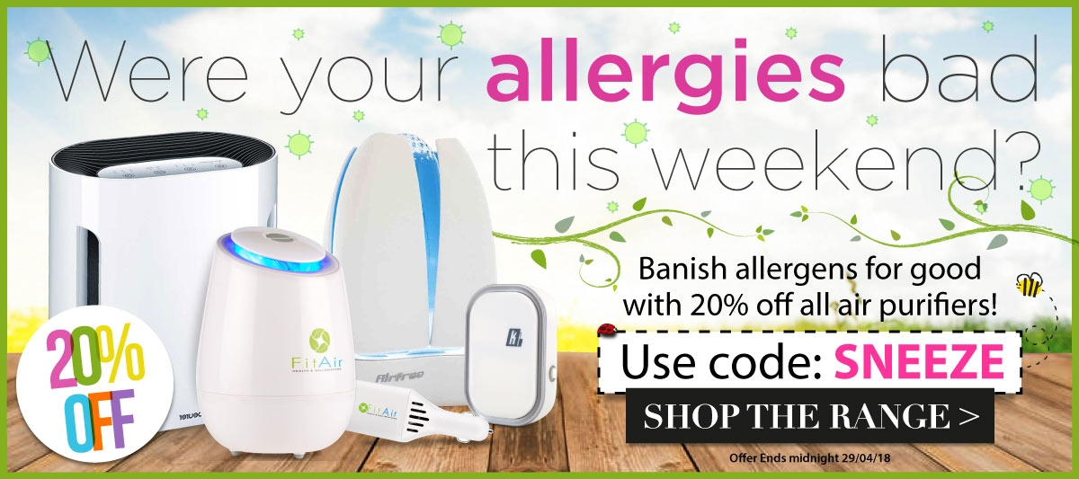 20% off Air Purifiers