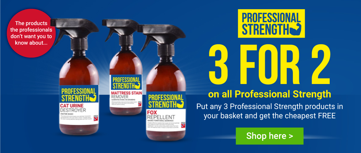 3 for 2 on Professional Strength Range