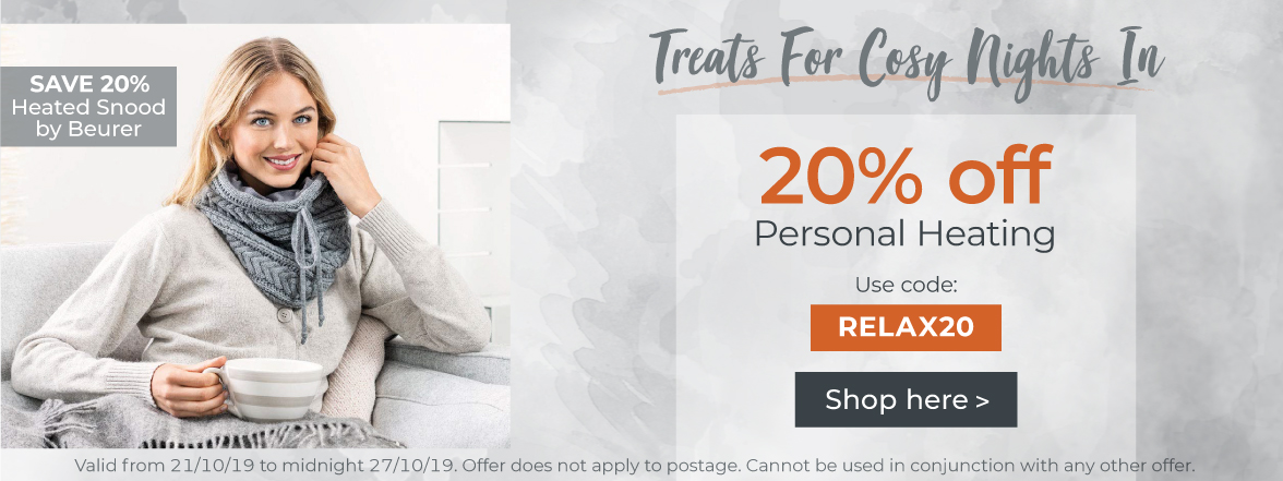 20% Off Personal Heating