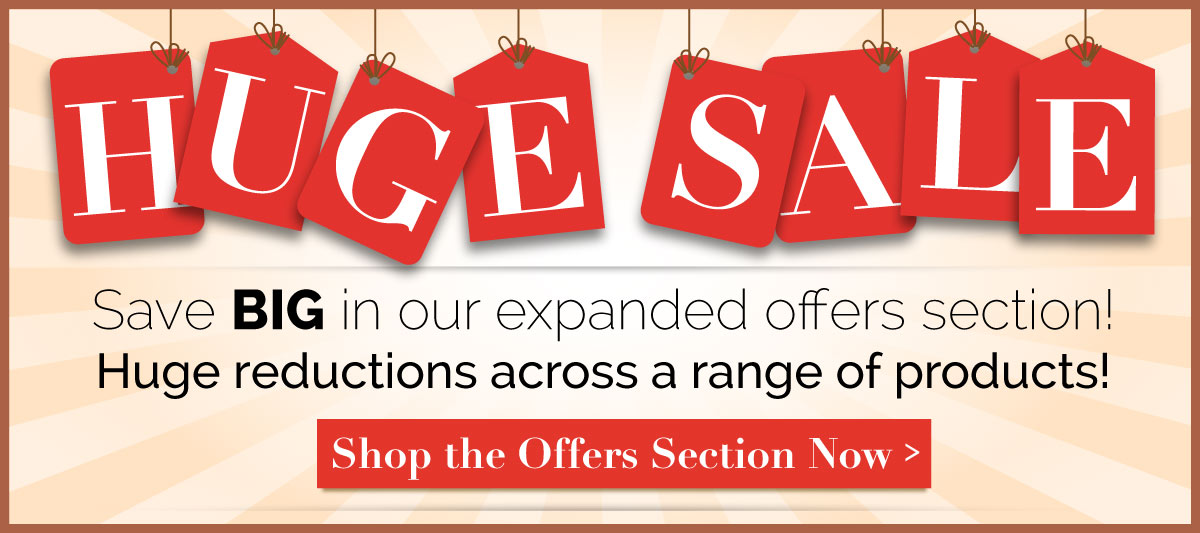 Save big in our sale section