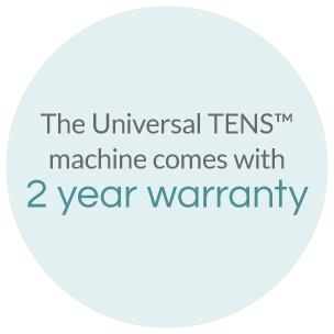 Universal TENS 2 Year Warranty