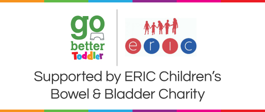 Go Better Toddler Potty Training Seat supported by ERIC Children's Bowel and Bladder Charity