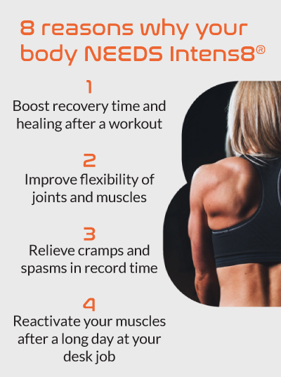 8 Reasons to Use  Intens8 iEase Percussion Massage Gun