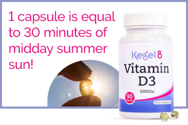 Kegel8 Vitamin D Supplement