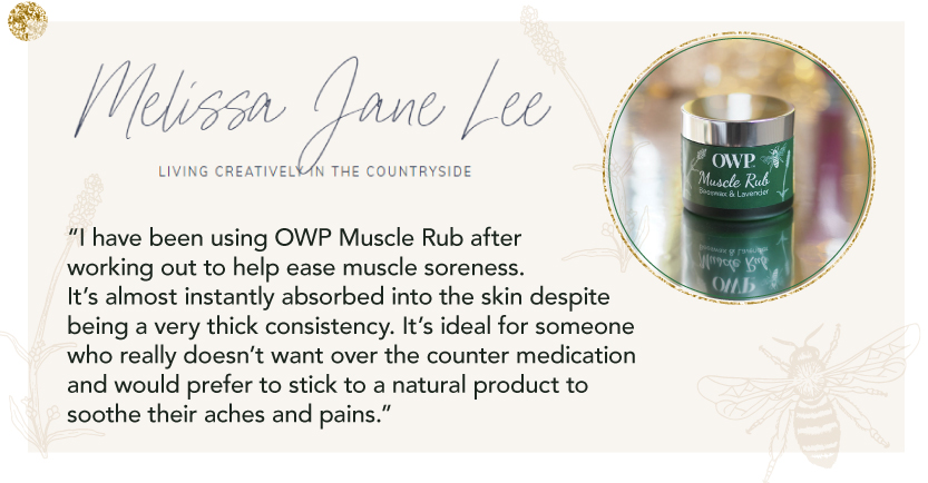 Organic Where Possible (OWP) Muscle Rub