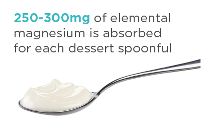 Magnesium spoonful