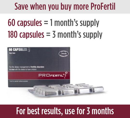 PROfertil save when you buy more