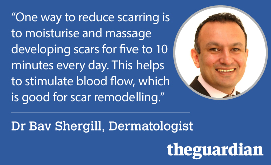 Dr Bav Shergill, Dermatologist. The Guardian