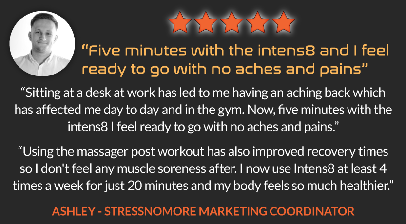 Intens8™ Deep Tissue Percussion Massager Review