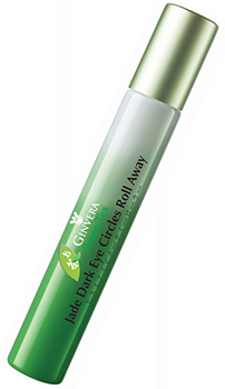 Ginvera green tea jade dark eye circle roll away