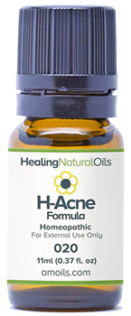 Healing Natural Oils acne