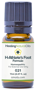 Healing Natural Oils athletes foot