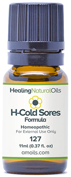 Healing Natural Oils cold sores