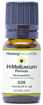 Natural Healing Oils molluscum