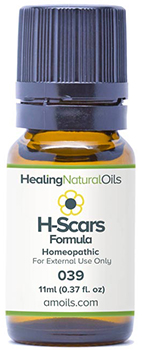 Healing Natural Oils scars