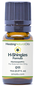 Healing Natural Oils shingles