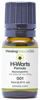 Healing Natural oils wart treatment