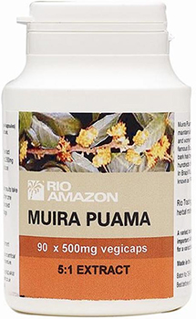 Rio Amazon Muira Puama vegicaps