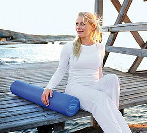 sissel foam roller outdoors