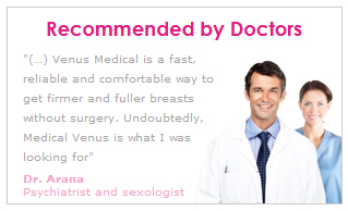 Venus Medical Breast Enhancement device is recommended by doctors