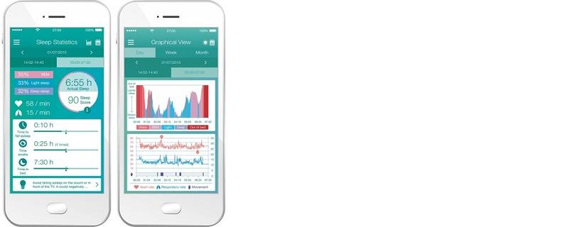 Beurer SleepExpert Sleep Sensor SE 80 App