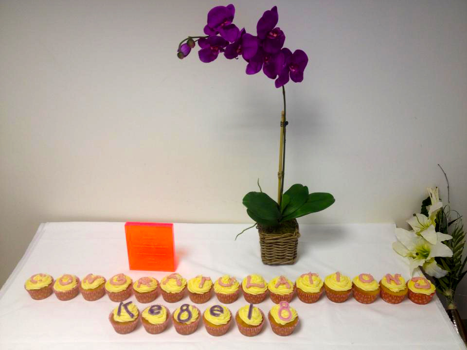 Congratulations Kegel8 cupcakes for Medilink Uk award