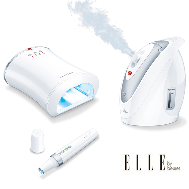 Beauty gadgets and treatments from Elle by Beurer