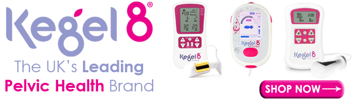 Kegel8 The UK's Leading Pelvic Health Brad available from StressNoMore