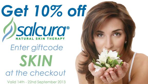 10% off Salcura Skincare