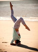 Yoga Tune Up is great for athletes who want to improve their performance
